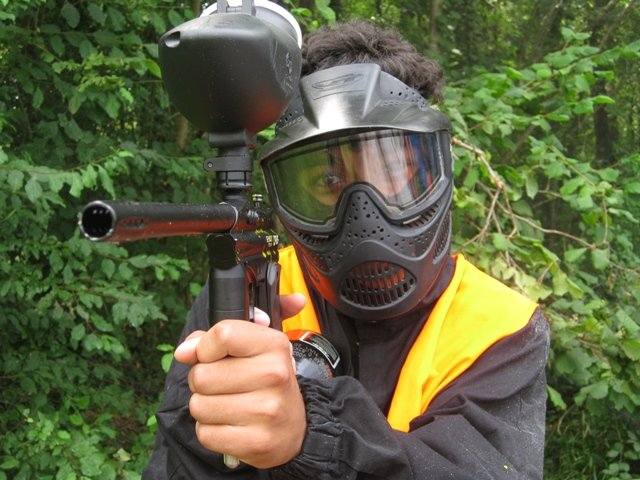 paint ball Bourgogne