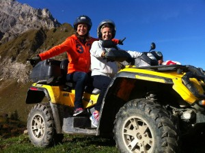 randonnee quad beaune